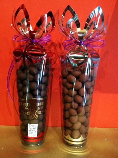 Dark Chocolate Covered Kona Coffee Beans
